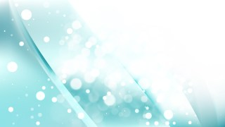 Abstract Turquoise and White Blurred Lights Background