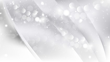 Abstract White Defocused Lights Background Vector