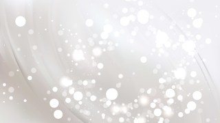 Abstract White Blur Lights Background Vector