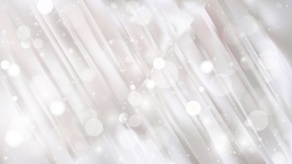 Abstract White Blurred Bokeh Background Vector