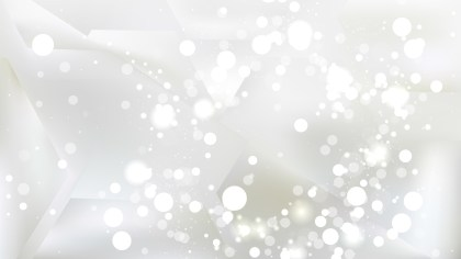 Abstract White Blurry Lights Background Image