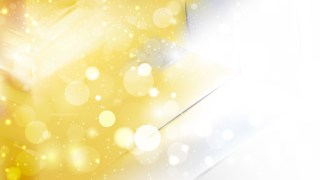 Abstract White and Gold Blurry Lights Background Design