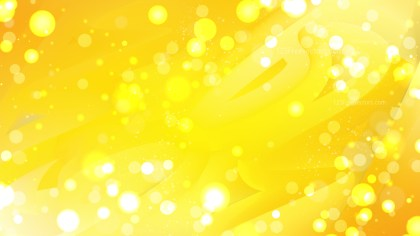 Abstract Yellow Blur Lights Background