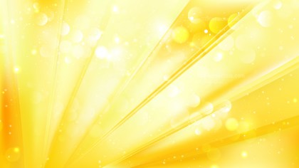 Abstract Yellow Bokeh Background Vector