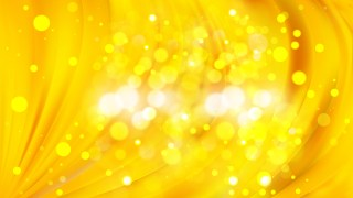 Abstract Yellow Lights Background Vector