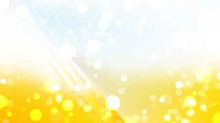 Abstract Yellow and White Bokeh Defocused Lights Background Vector