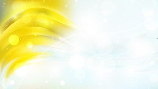 Abstract Yellow and White Defocused Background Vector