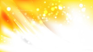 Abstract Yellow and White Blur Lights Background Image