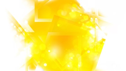 Abstract Yellow and White Defocused Lights Background Image
