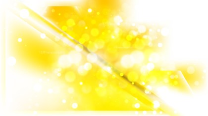 Abstract Yellow and White Blurred Lights Background Image