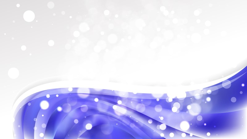 Blue and White Business Brochure Graphic