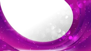 Bright Purple Brochure Design