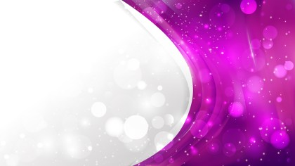 Abstract Bright Purple Wave Business Background Image