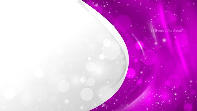 Bright Purple Brochure Design