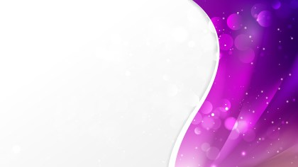 Abstract Bright Purple Wave Business Background