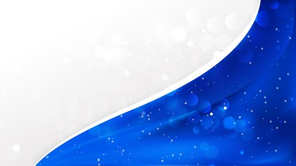 Abstract Cobalt Blue Business Background Template