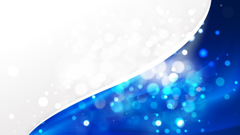 Abstract Cobalt Blue Business Background Template Image