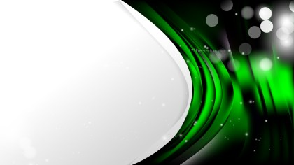 Abstract Cool Green Wave Business Background Vector Image