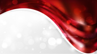 Cool Red Wave Business Background