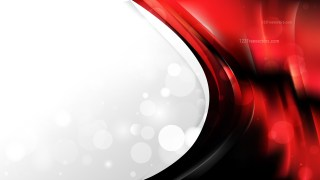 Cool Red Brochure Design Vector