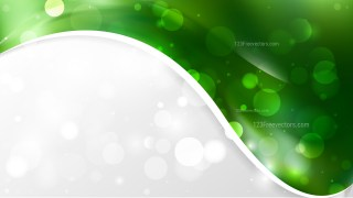 Abstract Dark Green Wave Business Background Vector Image