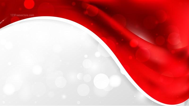 Dark Red Wave Business Background