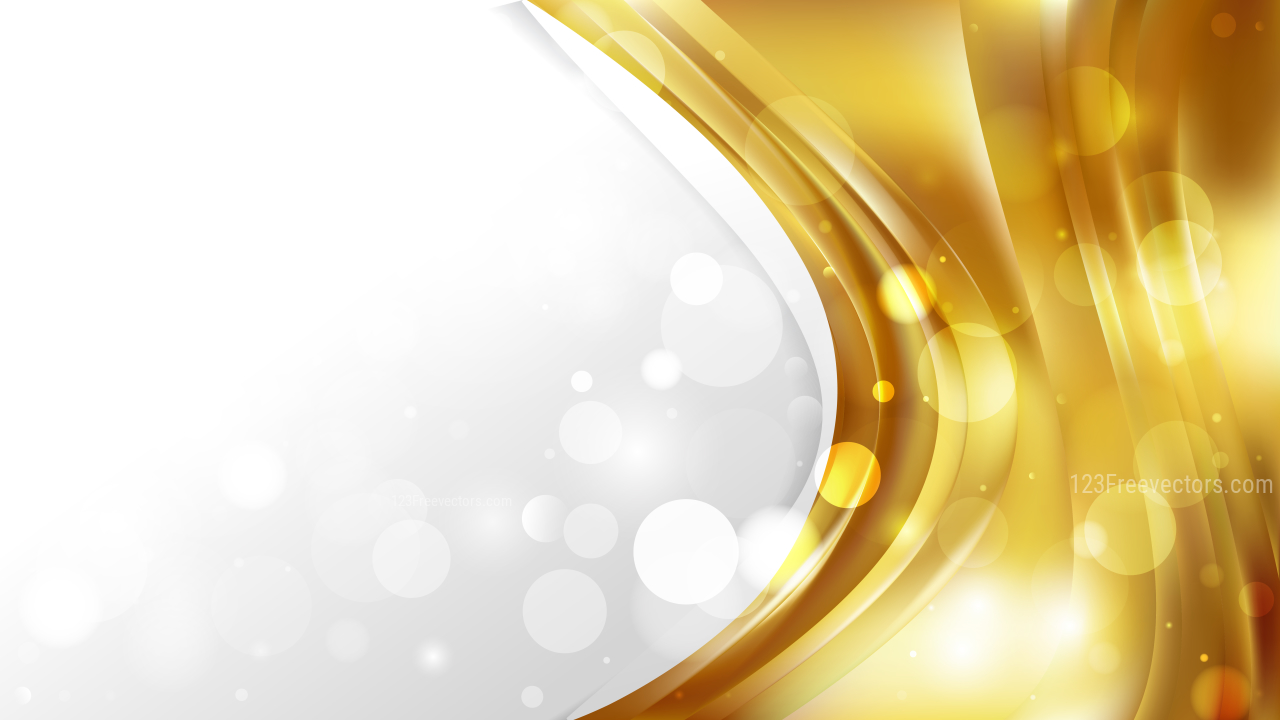 gold wave background design