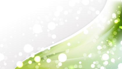 Green and White Wave Business Background