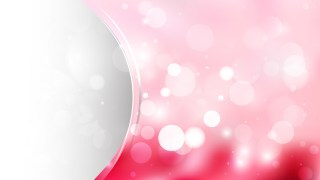 Light Pink Wave Business Background Graphic