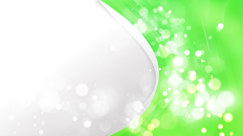 Neon Green Wave Business Background
