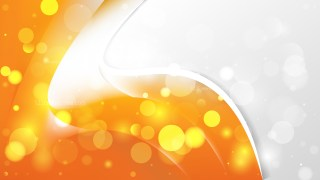 Abstract Orange and White Business Background