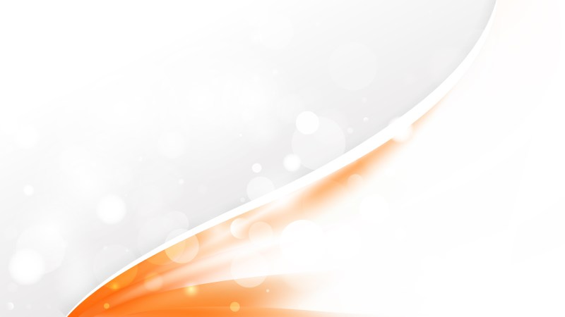 Orange and White Business Background Template