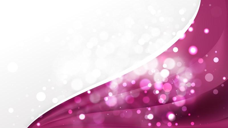 Abstract Pink Brochure Design