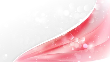 Abstract Pink and White Wave Business Background