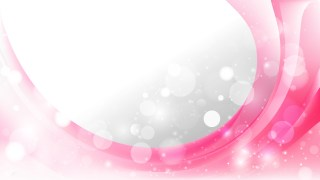 Pink and White Wave Business Background