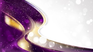Purple and Gold Business Background Illustrator
