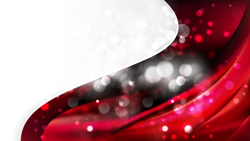 Red and Black Wave Business Background