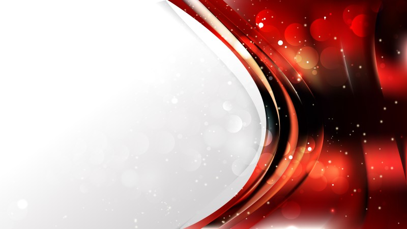 Abstract Red and Black Wave Business Background