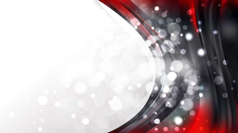 Red and Black Wave Business Background Template