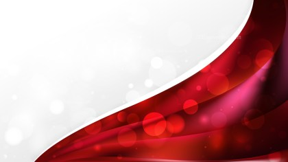 Abstract Red and Black Wave Business Background Illustration