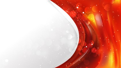 Abstract Red and Orange Wave Business Background