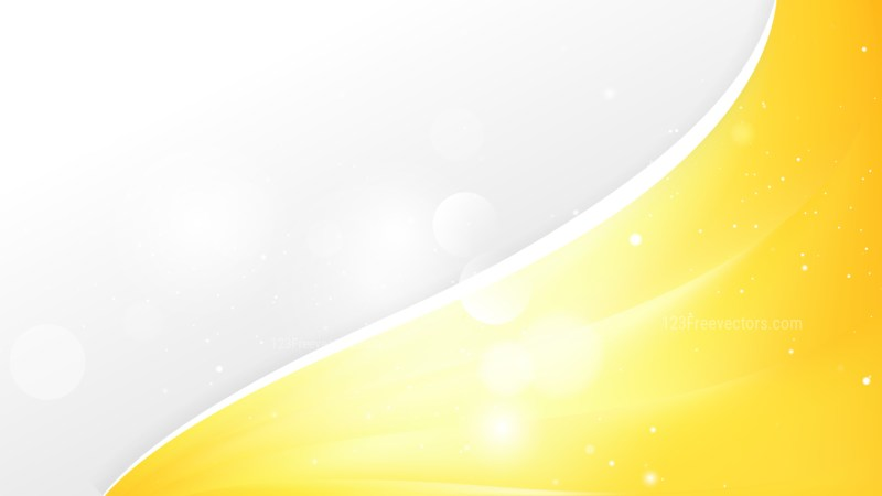 Yellow Wave Business Background Template
