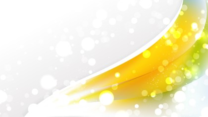 Abstract Yellow and White Wave Business Background Image