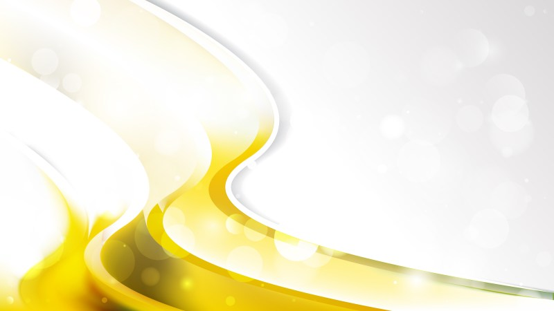 Yellow and White Business Brochure Graphic