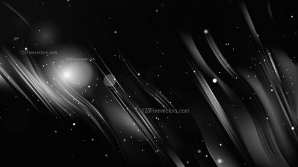 Abstract Black Background Graphic