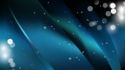 Abstract Black and Blue Background Illustration