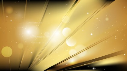Abstract Black and Gold Background Illustration