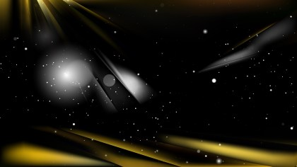 Abstract Black and Gold Background Vector Art