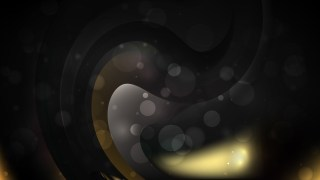 Abstract Black and Gold Background Graphic