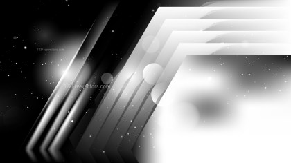 Abstract Black and White Background Image